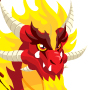 An image of a Pure Flame Dragon