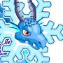 The Snowflake Dragon in Dragon City