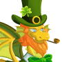An image of a St Patricks Dragon