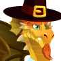 An image of a Thanksgiving Dragon