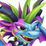 The Whipper Dragon in Dragon City