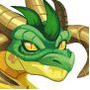The Wurm Dragon in Dragon City