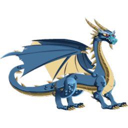 An image of the Blue Dragon