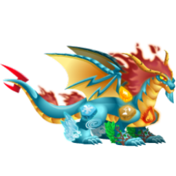 An image of the Elements Dragon