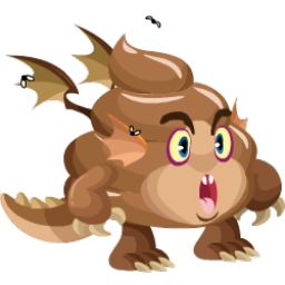 An image of the Poo Dragon