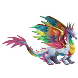 An image of the Rainbow Dragon