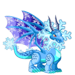 An image of the Snowflake Dragon