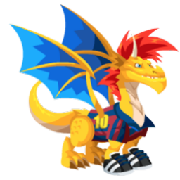 An image of the Soccer Dragon