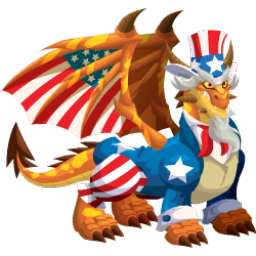 An image of the Uncle Sam Dragon