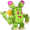 The Cactus Dragon in Dragon City