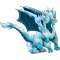 The Double Ice Dragon in Dragon City