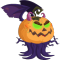 The Evil Pumpkin Dragon in Dragon City