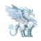 The Frost Dragon in Dragon City