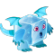 The Icecube Dragon in Dragon City