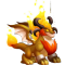 The Ifrit Dragon in Dragon City