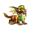 The Jamaican Dragon in Dragon City