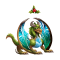 The Mistletoe Dragon in Dragon City