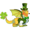 The St Patricks Dragon in Dragon City
