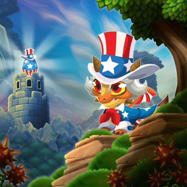 A Uncle Sam Egg Hatching