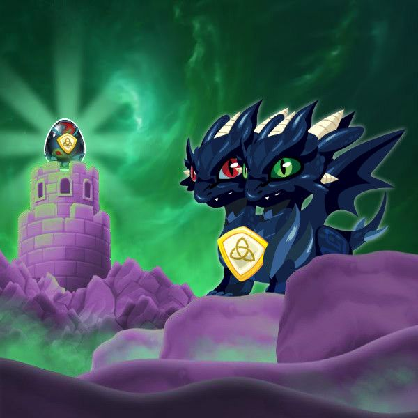 Pure Dark Dragon Information In Dragon City
