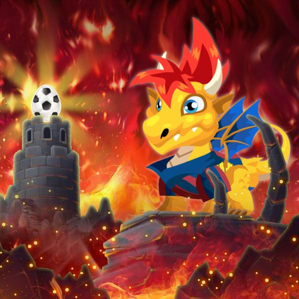 Soccer Dragon Information in Dragon City