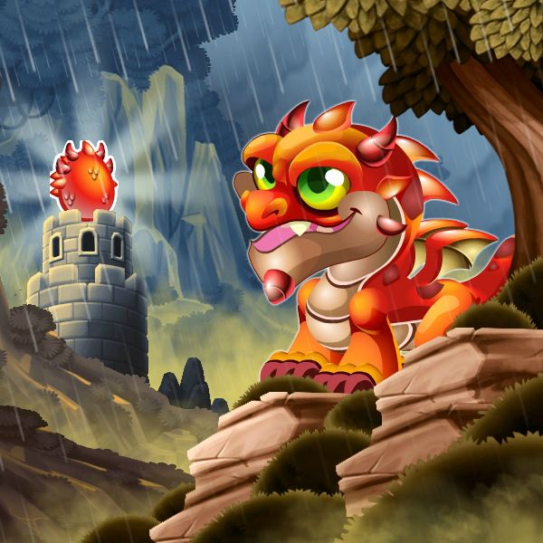 spiky dragon information in dragon city