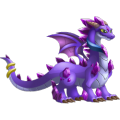 The Amethyst Dragon in Dragon City