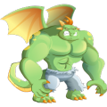 The Angry Dragon in Dragon City