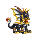 The Anubis Dragon in Dragon City