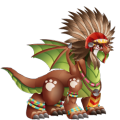 The Apache Dragon in Dragon City