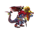 The Aztec Priest Dragon in Dragon City