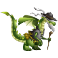 The Blind Dragon in Dragon City