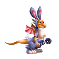 The Bunny Dragon in Dragon City