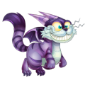 The Cheshire Cat Dragon in Dragon City