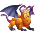 The Chimera Dragon in Dragon City