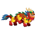 The Chinese Dragon in Dragon City