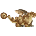 The Cookie Dragon in Dragon City