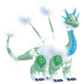 The Dandelion Dragon in Dragon City
