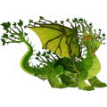 The Deep Forest Dragon in Dragon City