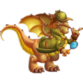 The Detective Dragon in Dragon City
