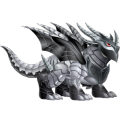 The Double Metal Dragon in Dragon City