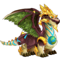 The Earth Day Dragon in Dragon City