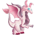 The Easter Dragon in Dragon City