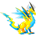 The Electric Dragon in Dragon City