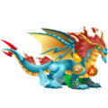 The Elements Dragon in Dragon City