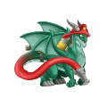 The Firefighter Dragon in Dragon City