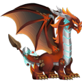 The Forge Dragon in Dragon City