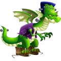The Frankie Dragon in Dragon City