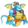 The Genie Dragon in Dragon City