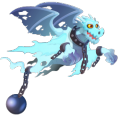 The Ghost Dragon in Dragon City